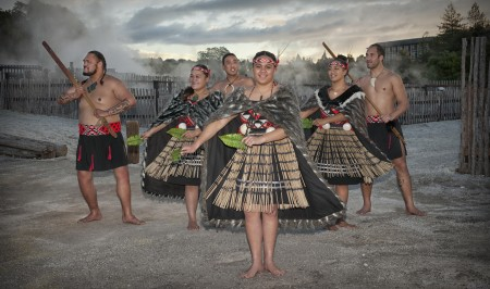 Traditional Kapa haka group