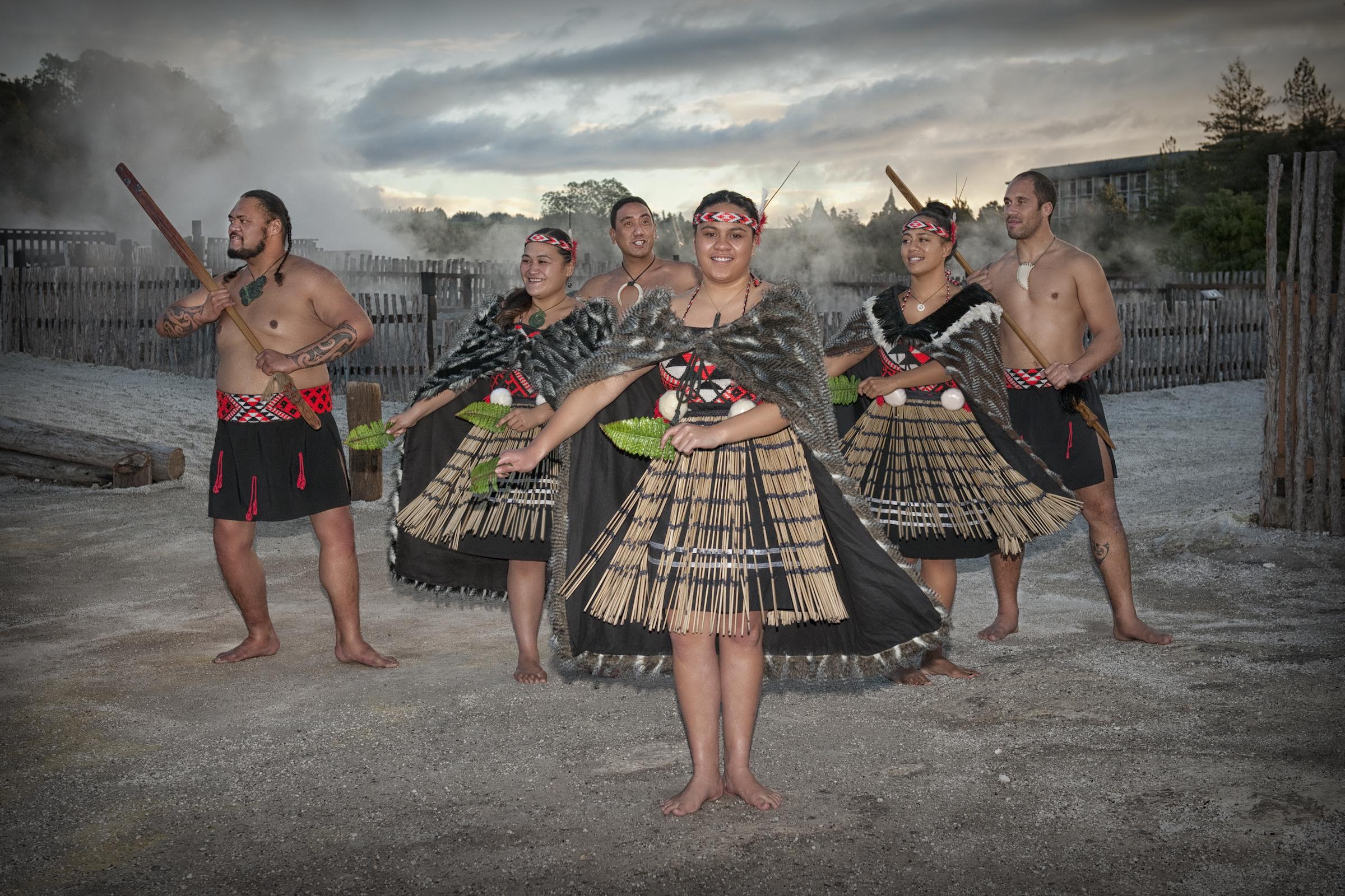 Traditional Kapa haka group