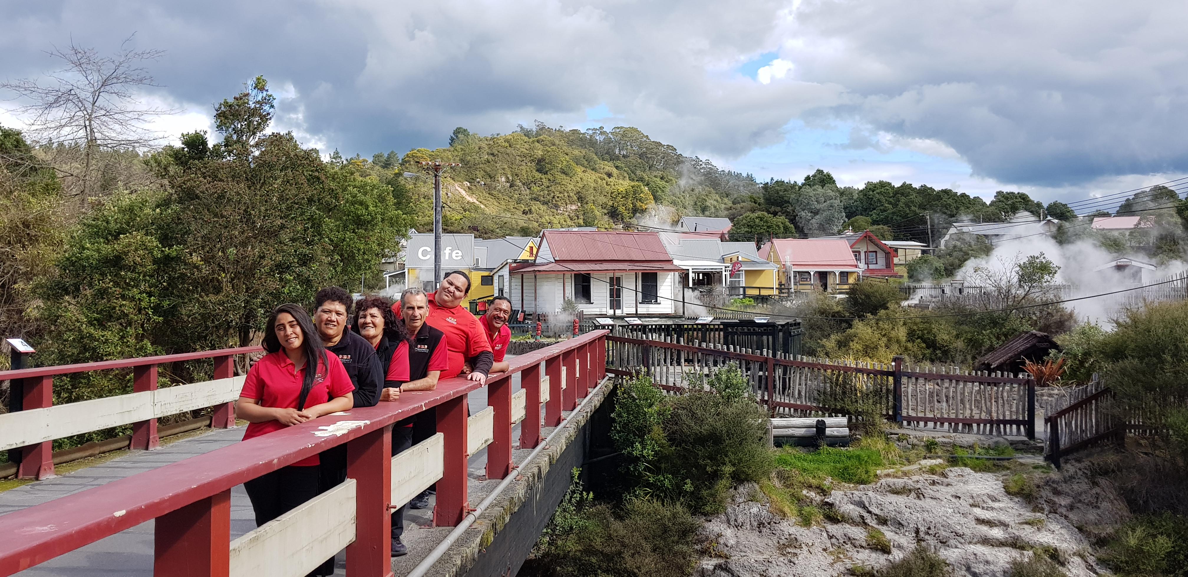Guides of Whakarewarewa