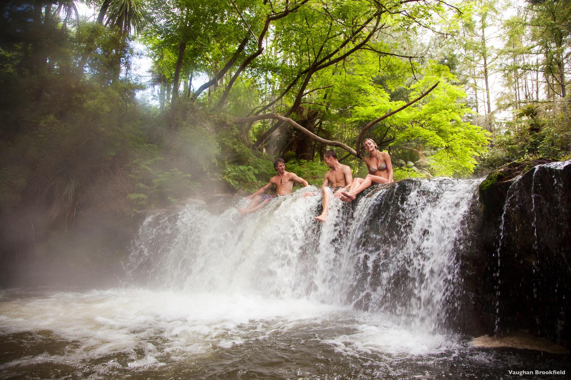 Kerosene Creek, Rotorua near Whakarewarewa Maori Village