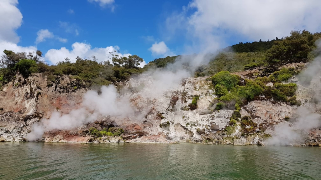 Waimangu Valley at Whakarewarewa Maori Village