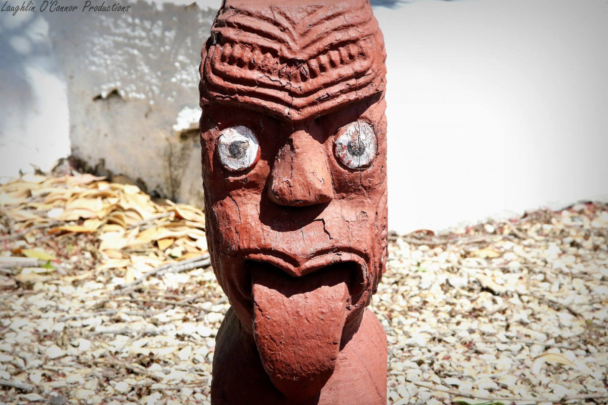 The story behind the tekoteko of Whakarewarewa Village