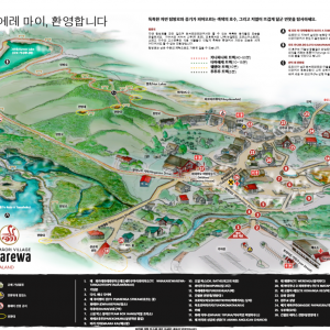 Korean map